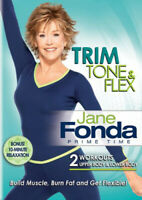 Jane Fonda: Prime Time - Trim, Tone and Flex DVD NEW