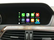 Wireless Mercedes CarPlay Retrofit Camera Interface A B CLA GLA NTG 4.5 13-15