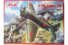ICM 72072 1/72 Polikarpov I-16 Type 18 WWII Soviet Fighter