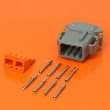 Deutsch DTM Series 8 Way Plug Connector Kit DTM06-08SA Pins Wedglock DTM06-08SA