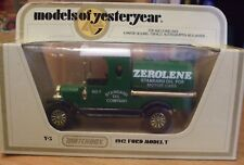 YESTERYEAR DIECAST MODEL (RARE MODEL)  *** Y-3 1912 (ZEROLENE) TANKER *** NEW