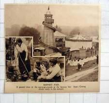 1919 Lovely View Over Barnet Fair, Dinner Ready In Stew Pot