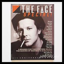 The Face Magazine May 1985 Mickey Rourke David Bowie Yamamoto Senn Penn
