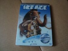 ICE AGE DVD SteelBook NEW&SEALED Ray Romano Denis Leary Blue Sky Studios