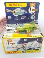 Vintage Dinky Toys 351 UFO Interceptor Boxed Gerry Anderson