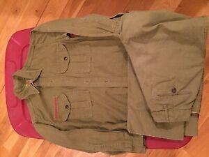 Vintage Boy Scout BSA uniform