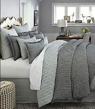 $229 NOBLE EXCELLENCE VINTAGE WASHED LINEN KING DUVET COVER RN #58909
