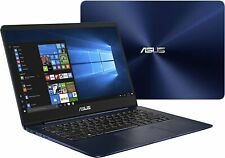 "Asus ZENBOOK UX430UA-DB71-BL 14"" Nano Bezel Intel i7-7500U 8GB 256GB Win 10 Blue"