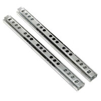 2x 9-15 Close Drawer Slides Ball Bearing Full Extension Value Pack 0.8mm Thick