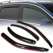 FOR 95-00 CONTOUR/MYSTIQUE 4DR SMOKE WINDOW VISOR SHADE/VENT WIND/RAIN DEFLECTOR
