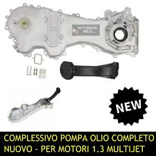 POMPA OLIO CARTER DISTRIBUZIONE COPERCHIO MOTORI FIAT LANCIA 1.3 MJET MULTIJET