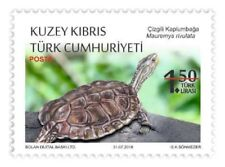 2018 -  PROTECTED ANIMALS - REPTILES - TURKISH CYPRUS
