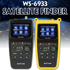 Satlink WS-6933 DVB-S2 FTA Digital Satellite Finder Signal Meter LCD with Case