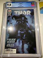 Thor #5 (2020 Marvel Comics) 3rd Print CGC 9.8 Black Winter Donny Cates