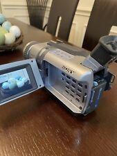Working Sony Handycam DCR-TRV340 Digital-8 Hi8 Camcorder Video Transfer