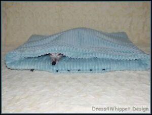 Kuschelhöhle Schlafsack für Windhund & Co. - Flanell Cord Optik - °Das Original°