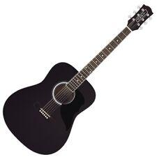 EKO RANGER 6 BLK nera chitarra acustica folk classic tavola abete garanziaITALIA