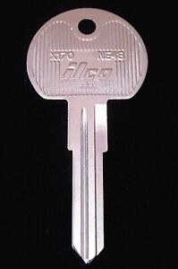 NE48 KEY BLANK AUSTIN MINI Ign. 1985-87, ROVER MINI 1988-94, RANGE ROVER 1989-94