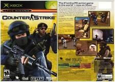Counter Strike Original Microsoft XBox Game Complete w/Manual