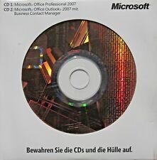 MS OFFICE 2007 PRO | Vollversion | Dauerlizenz | DVD / CD | Outlook Access | DE