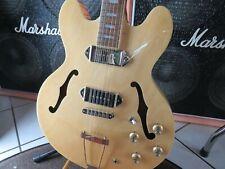 E-Gitarre EPIPHONE Casino NA natural semi akkustik blues Rock Gitarre UVP  589,-
