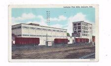 Ne Lexington Nebraska 1951 linen post card Lexington Flour Mills