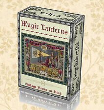 136 Vintage Magic Optical Lanterns Books on DVD - Antique Projectors Slides 262