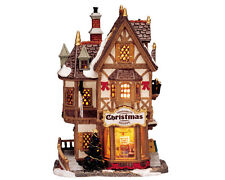 LEMAX TANNENBAUM CHRISTMAS SHOPPE Weihnachtsdorf Winterdorf Porzellanhaus