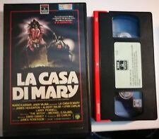 VHS - LA CASA DI MARY di James Roberson [RCA]