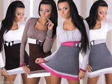 Women's No Pattern Crew Neck Casual Tunic, Kaftan Tops & Shirts