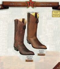 Los Altos Men's New J- Toe Rage Leather Pull Up Cowboy Western Boots