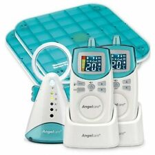 Angelcare Deluxe+ Movement & Sound Baby Monitor -Model AC401 with 2 Parent Units