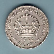Australia.  1938 Crown..  Trace Lustre..   gVF