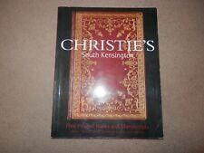 Christie's Catalog Fine Books Manuscripts Ian Fleming James Bond Dick Francis