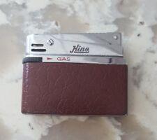 BRONICA Gas Lighter Short Mini Rare Design Silver