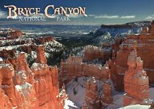Bryce Canyon National Park, Utah, Rock Formations in the Winter, Ut - Postcard