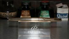 Parker 50 - Gold Imperial Insgnia with Medium Point Integrated Nib - (P260)