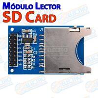 Modulo SD Card lector tarjeta SD SDHC SPI - Arduino Electronica DIY