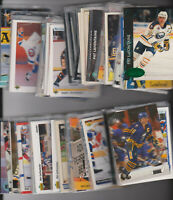 (181) card Pat LaFontaine mixed lot, Buffalo Sabres HOF