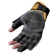 Dewalt DPG24L Fingerless Framers Gloves - Black /Yellow