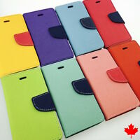 Samsung Galaxy Grand Prime G530 Quality Leather Flip Stand Wallet Cover Case
