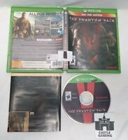 Metal Gear Solid V Phantom Pain Xbox One Map TESTED DISC FAST TRACKED SAFE SHIP