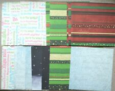 "20 Sheets 6"" x 6"" Backing Papers in Various Christmas Themes 3 Options NEW"