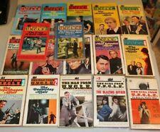 17 The Man From U.N.C.L.E. Ace 1965 pb books HTF 1-14 22 Girl 1-2 uncle nice
