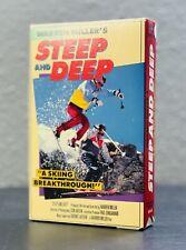 Warren Miller's Steep and Deep Betamax - Free Ship!