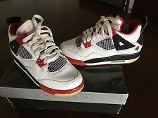 Air Jordan 4 retro 5Y white/varsity red