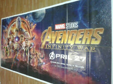 AVENGERS INFINITY WAR 2018 Orig Promo 6 SIX SHEET POSTER INDIA rare Limited qty!
