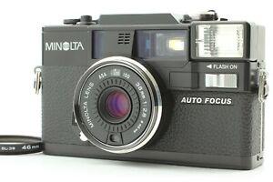 【N.MINT w/Filter】Minolta Hi-MATIC AF-D 35mm Point & Shoot Film Camera From Japan