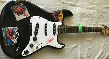 Stan Lee autographed signed Spider-Man Fender Squier Bullet electric guitar JSA