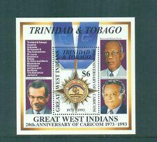 Trinidad and Tobago 1994 CARICOM Caribbean Economic Min Sheet MNH SG MS826